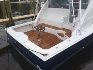 Teak Cockpit Installation - Intrinsic Yacht & Ship